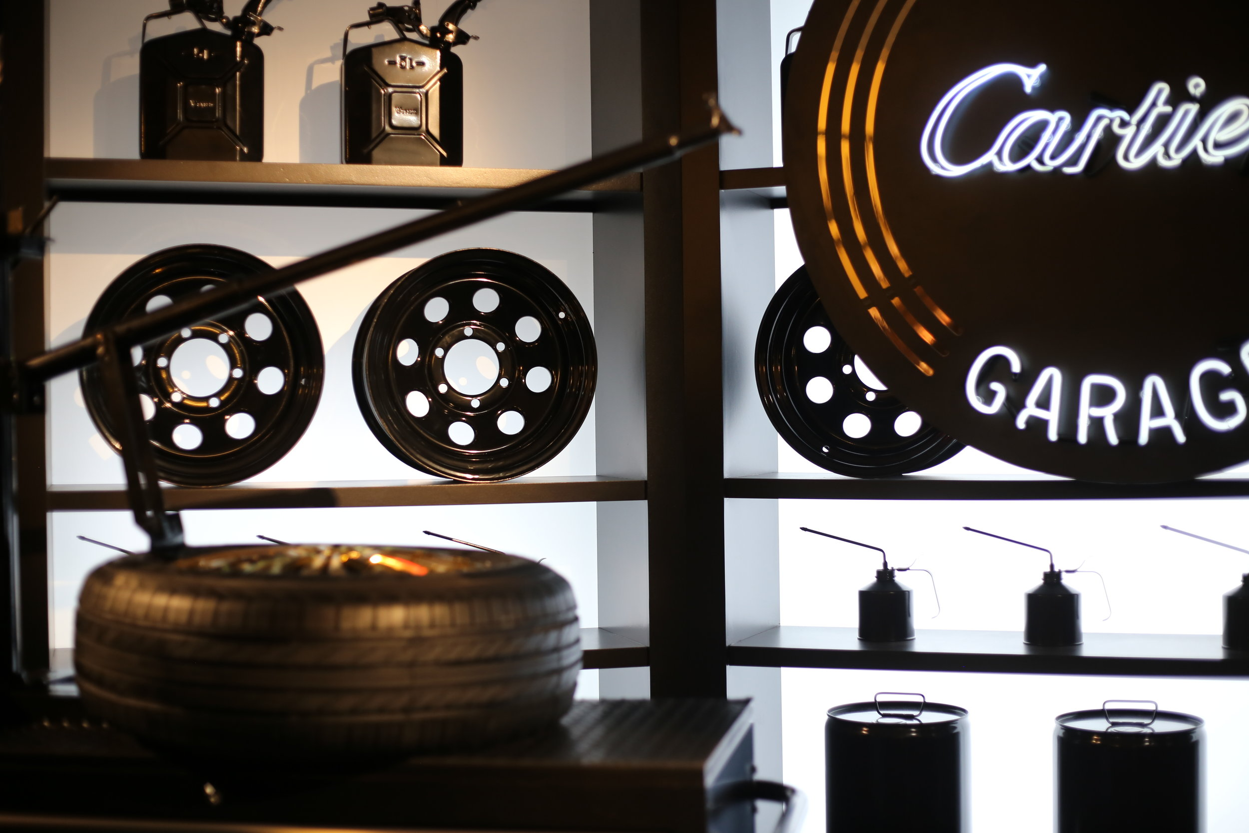 Plan your visit - the Cartier Fifth Avenue Mansion from September 7th until September 26th to experience the Precious Garage on Floor 3.