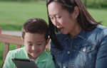 "Melissa Tan and Ethan Tan Hardy play Mommy and Son in Sprint's ""Unlimited Data"""