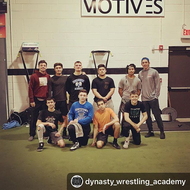 #Repost @dynasty_wrestling_academy with @download_repost ・・・ What a day we had yesterday! Our guys got in with Tommy and Joey from Motives for an awesome lift! After their lift, we hit the mats to drill for the remainder of practice! Great Job guys!  #manalapannj #monroe #freehold #eastwindsornj #hightstownnj #millstonenj #motiveslife