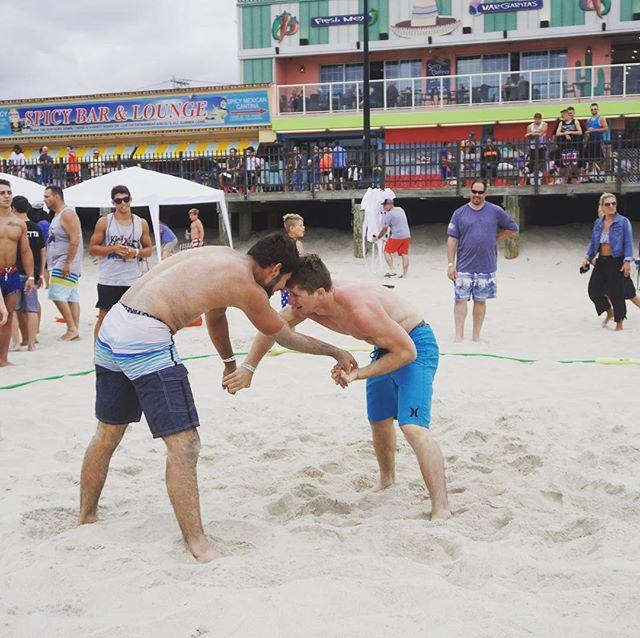 Division 1 All-American @kentheobold @ruwrestling @shorethingwc 2018 Open Division Competitor 👑  #motiveswrestling #jerseyshorekingofthebeach #njwrestling #beachwrestling #wrestling #seasideheights #motiveslife