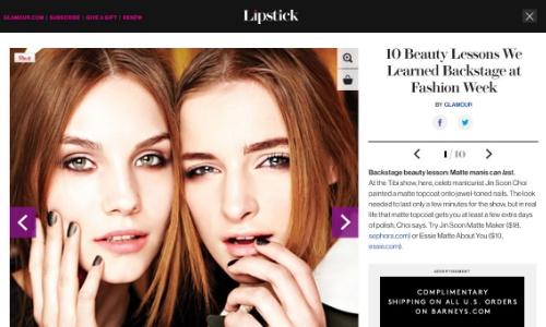 Lipstick Slideshow Responsive Design