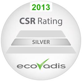 Calibre has received a silver EcoVadis CSR rating.