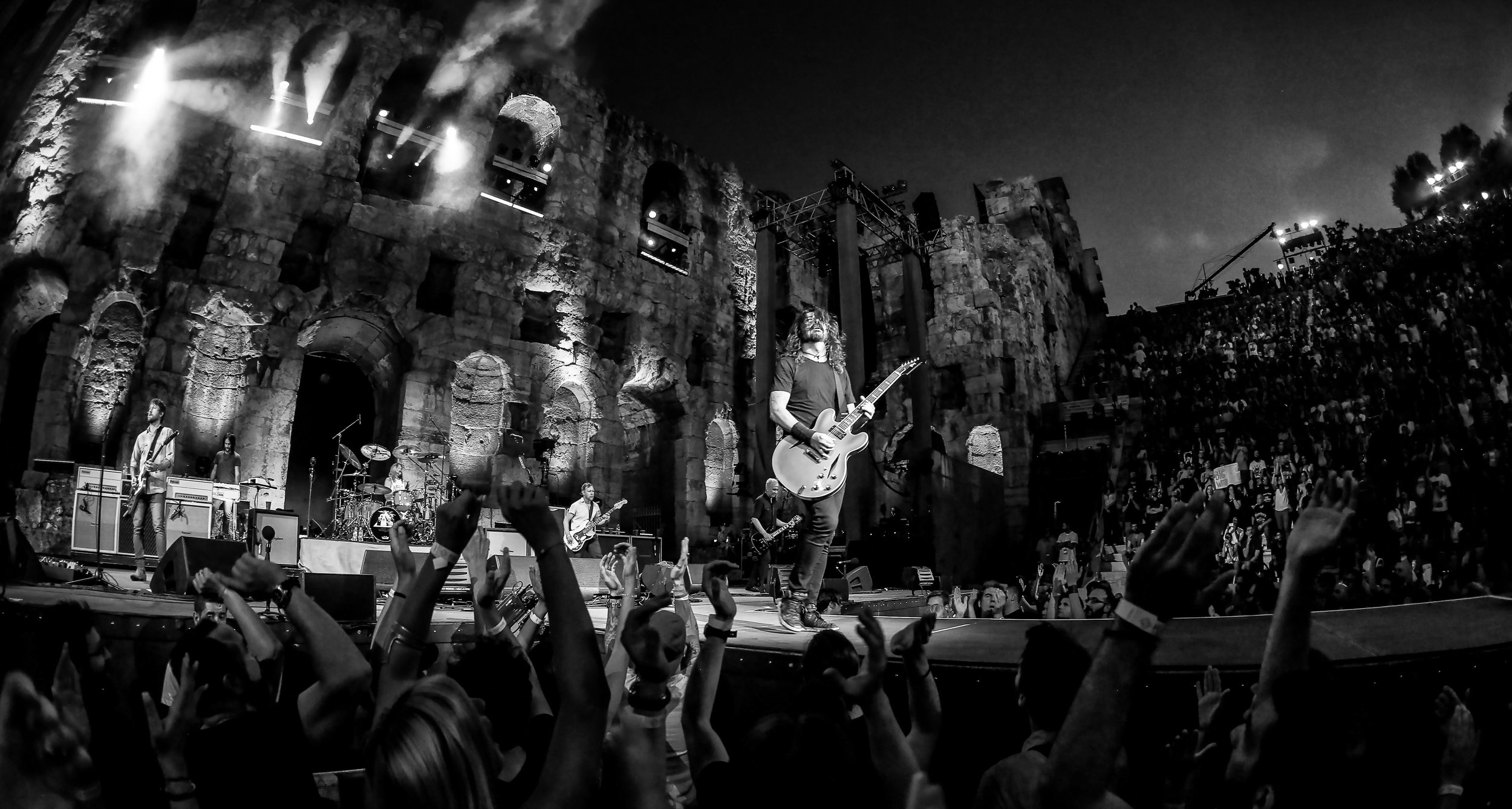 LANDMARKS LIVE_Foo Fighters_Odeon at Acropolis 9N4C5098 B+W by Chris Bradshaw.jpg