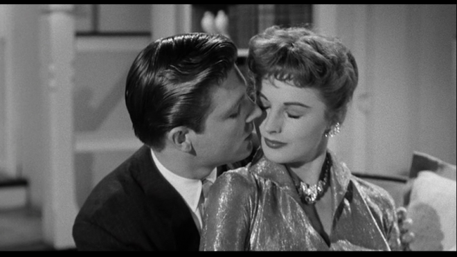 and with Grant Williams in The Leech Woman (1960)