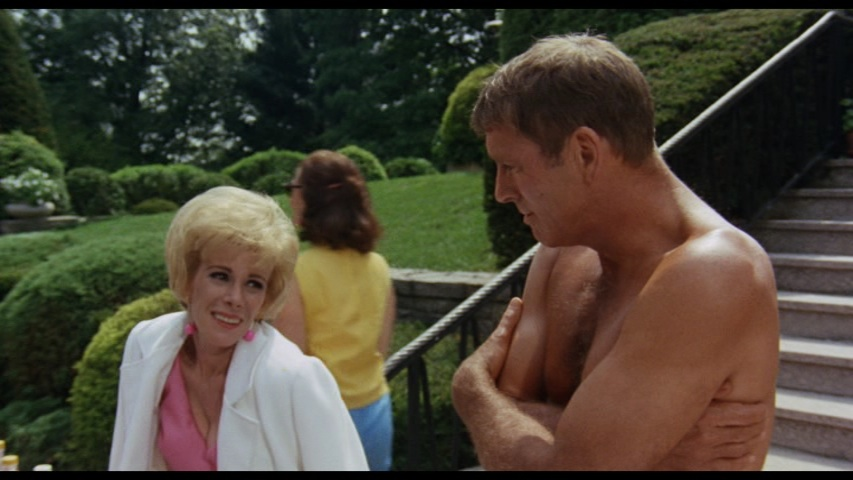 Joan Rivers and Burt Lancaster