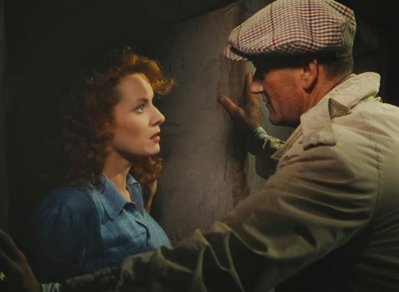 and with John Wayne in The Quiet Man (1952)