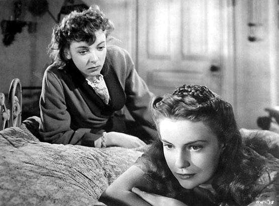 with Ida Lupino in The Hard Way (1943)