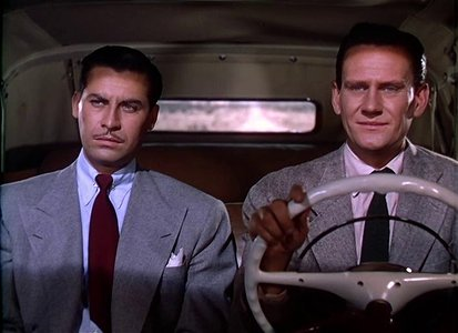 John Hodiak and Wendell Corey