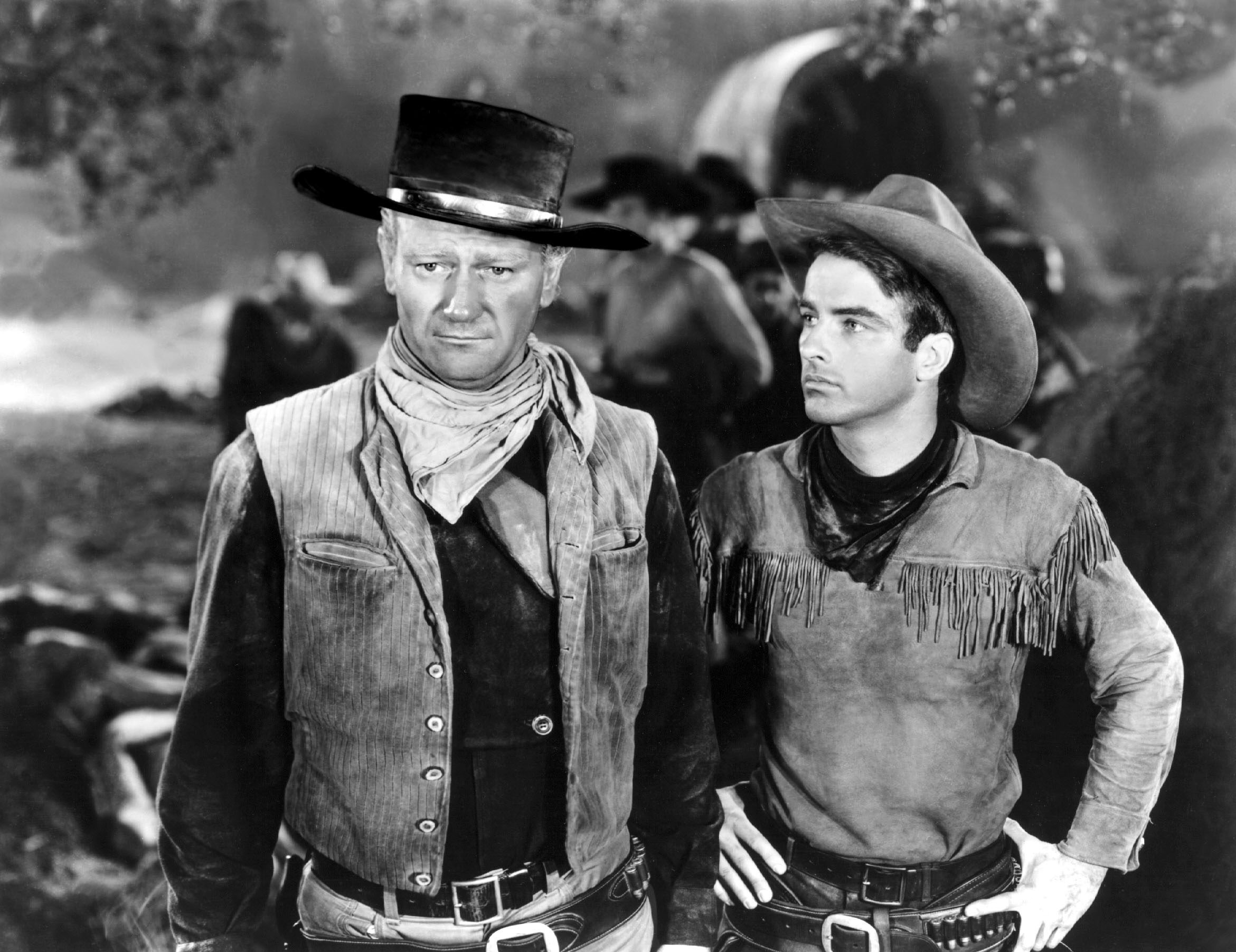 John Wayne, Montgomery Clift