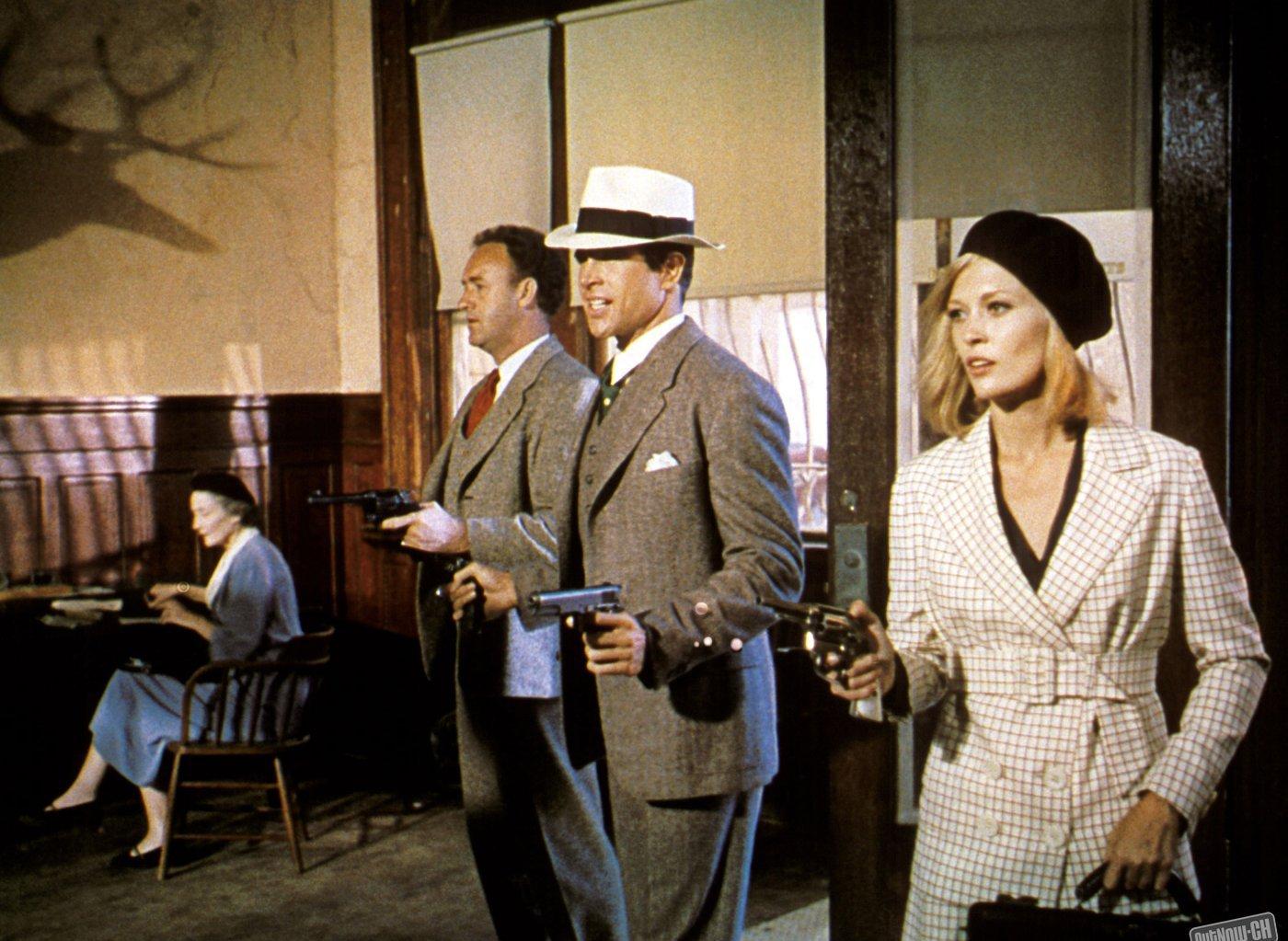 Gene Hackman, Warren Beatty, Faye Dunaway