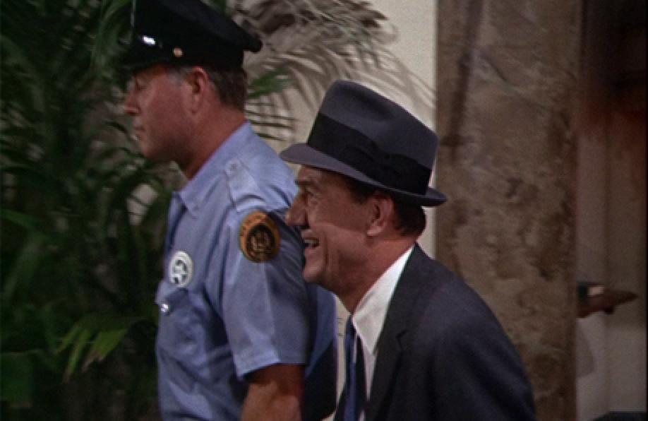 Karl Malden (on right)