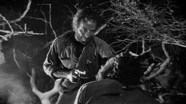(From left) Humphrey Bogart, Tim Holt