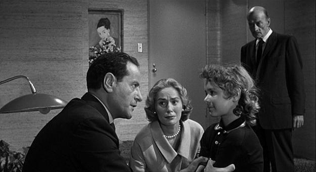 (From the left) Eli Wallach, Mary LaRoche, Cheryl Callaway, Robert Keith