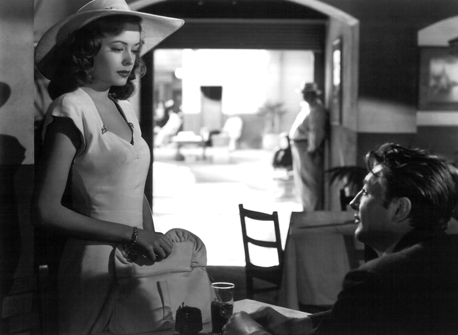 Jane Greer, Robert Mitchum