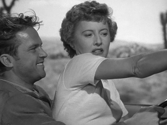 Ralph Meeker, Barbara Stanwyck