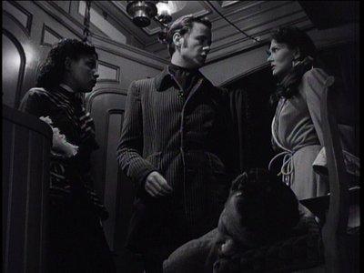 (From left) Ruby Dee, Marshall Thompson, Dick Powell, Paula Raymond