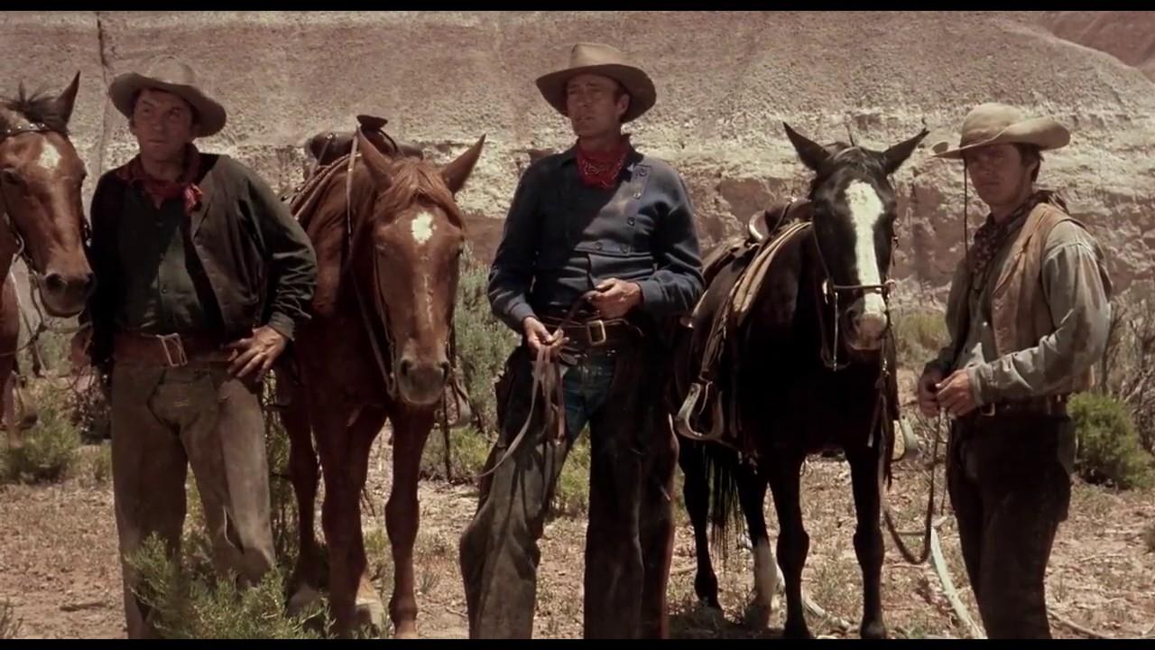 (From left) Cameron Mitchell, Tom Filer, Jack Nicholson