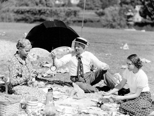 Kathleen Howard, W.C. Fields, Jean Rouverol