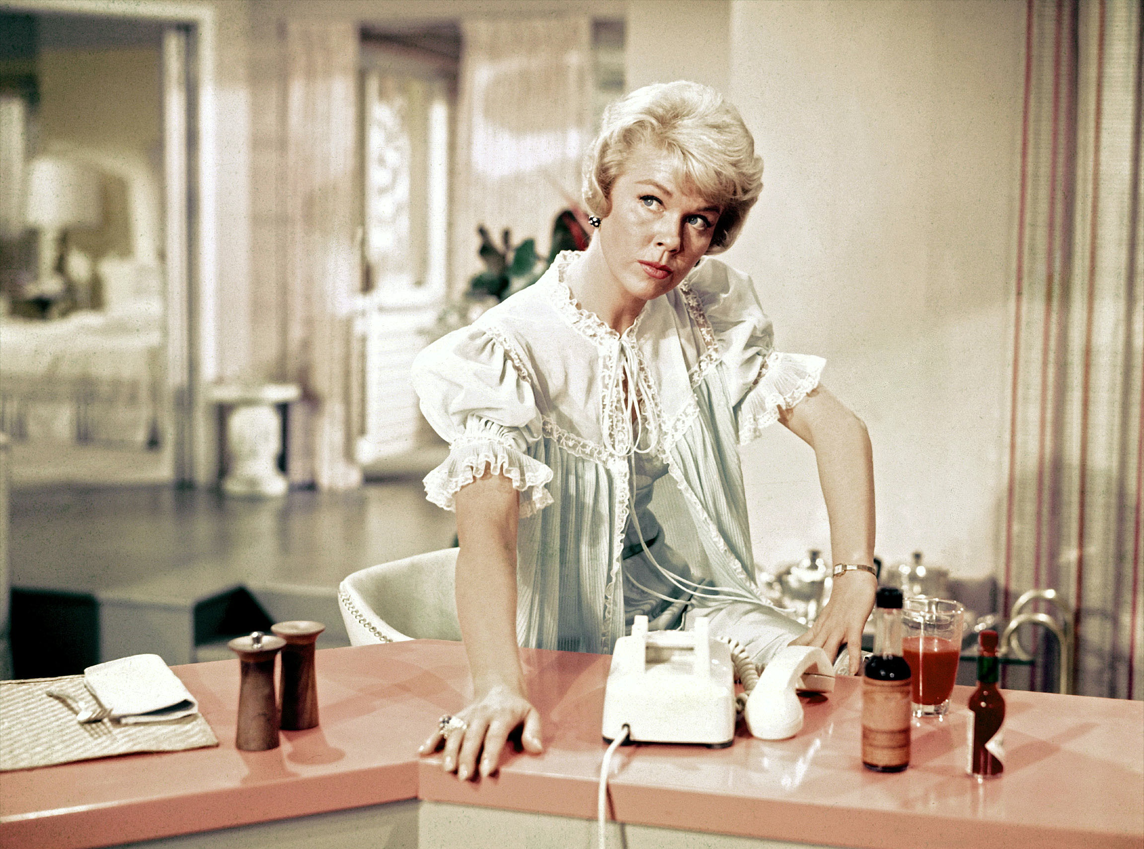 Doris Day as Jan Morrow in  Pillow Talk