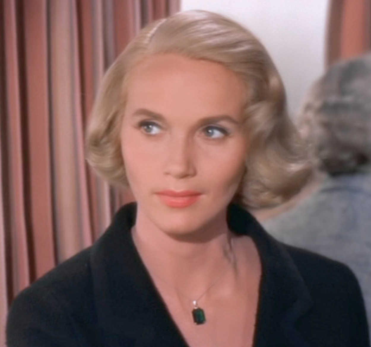 Eva Marie Saint as Eve Kendall in  North by Northwest