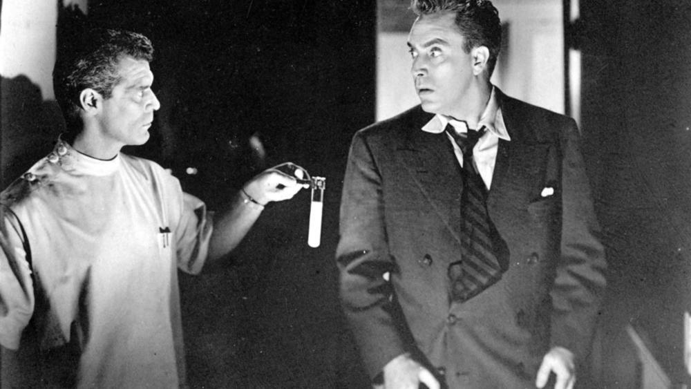 (From left) Frank Gerstle, Edmond O'Brien