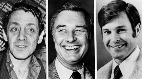 (From left) Harvey Milk, George Moscone, Dan White