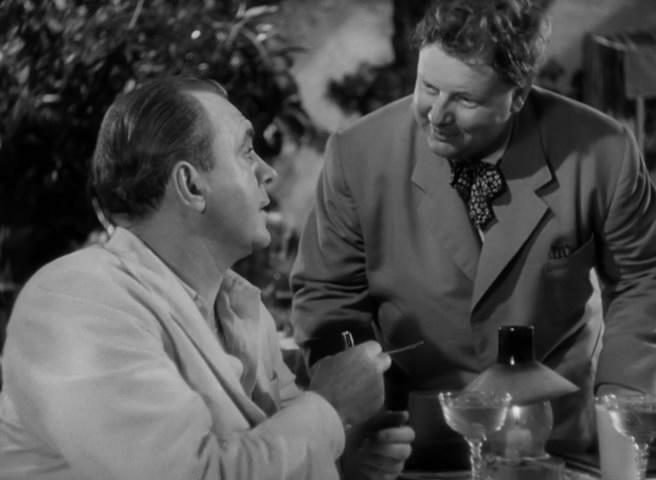 (From left) Pat O'Brien, Walter Slezak