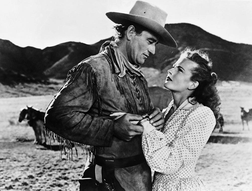 John Wayne, Coleen Gray