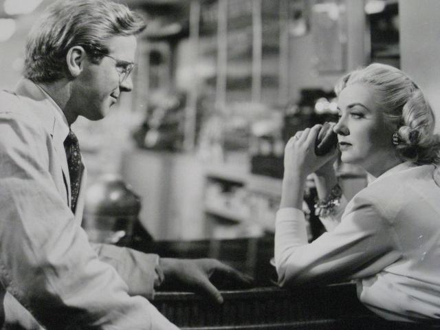 Richard Basehart, Audrey Totter