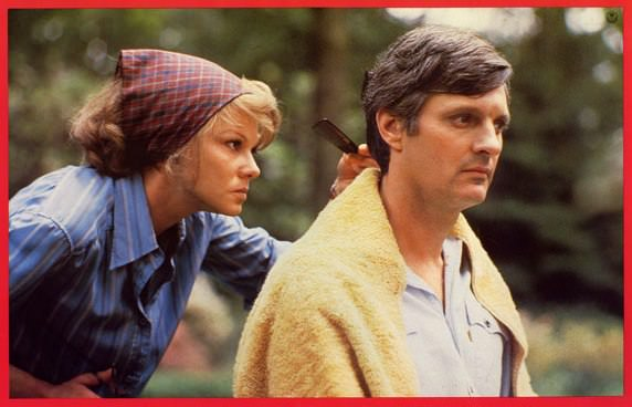 Barbara Harris and Alan Alda in THE SEDUCTION OF JOE TYNAN