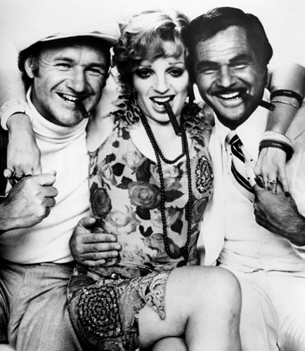 Gene Hackman, Liza Minnelli, and Burt Reynolds in LUCKY LADY