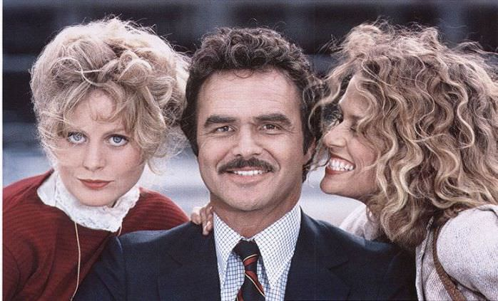 Beverly D'Angelo, Burt Reynolds, and Lauren Hutton in PATERNITY