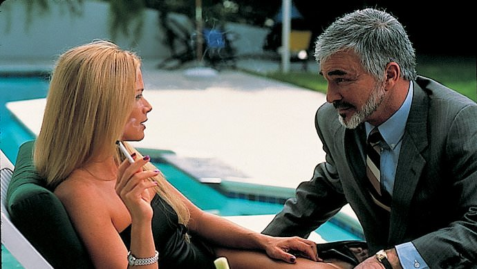 Lauren Holly and Burt Reynolds in THE LAST PRODUCER