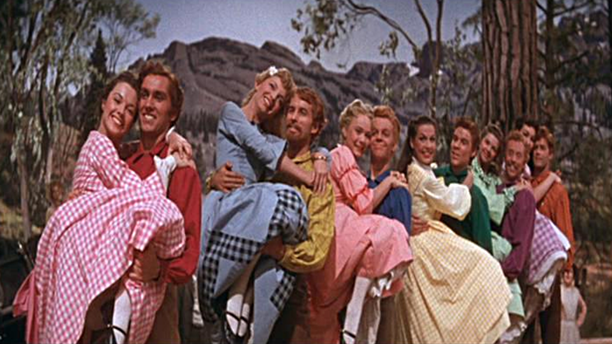 252. Seven Brides for Seven Brothers (1954)