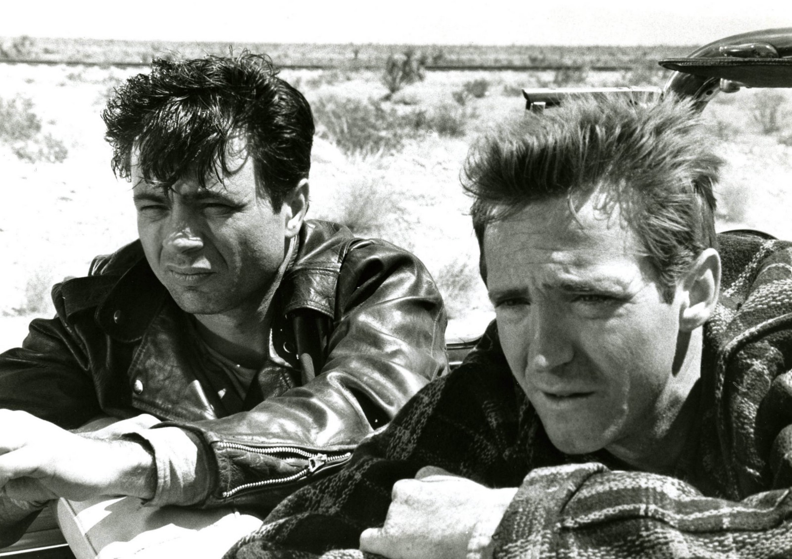 with Robert Blake in In Cold Blood (1967)