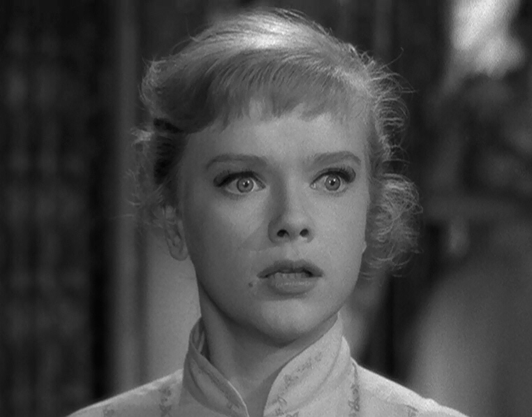 "As Marsha White in  The Twilight Zone  episode ""The After Hours"""