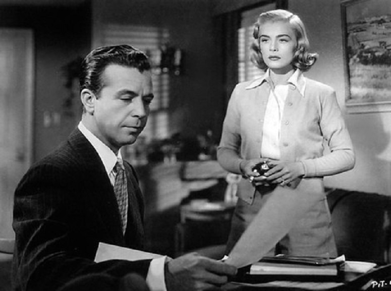 Dick Powell, Lizabeth Scott