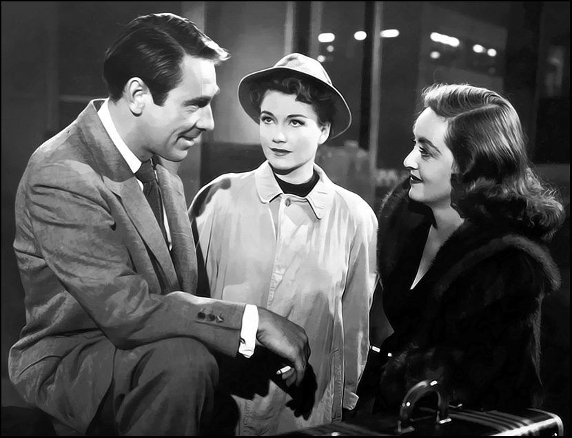 Gary Merrill, Anne Baxter, Bette Davis