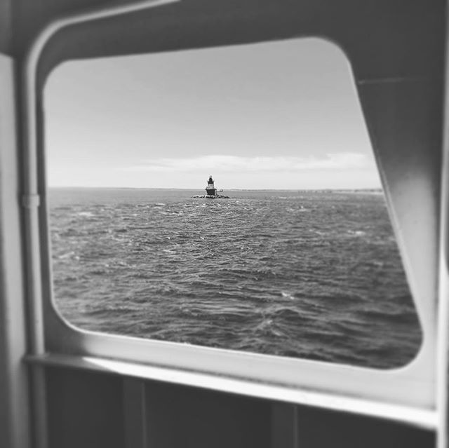 Weekend ferry trip #canon #ferry #water #lighthouse #boat #lisound