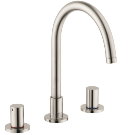 AXOR UNO WIDESREAD FAUCET BY HANSGROHE ONLY IN CHROME - $600
