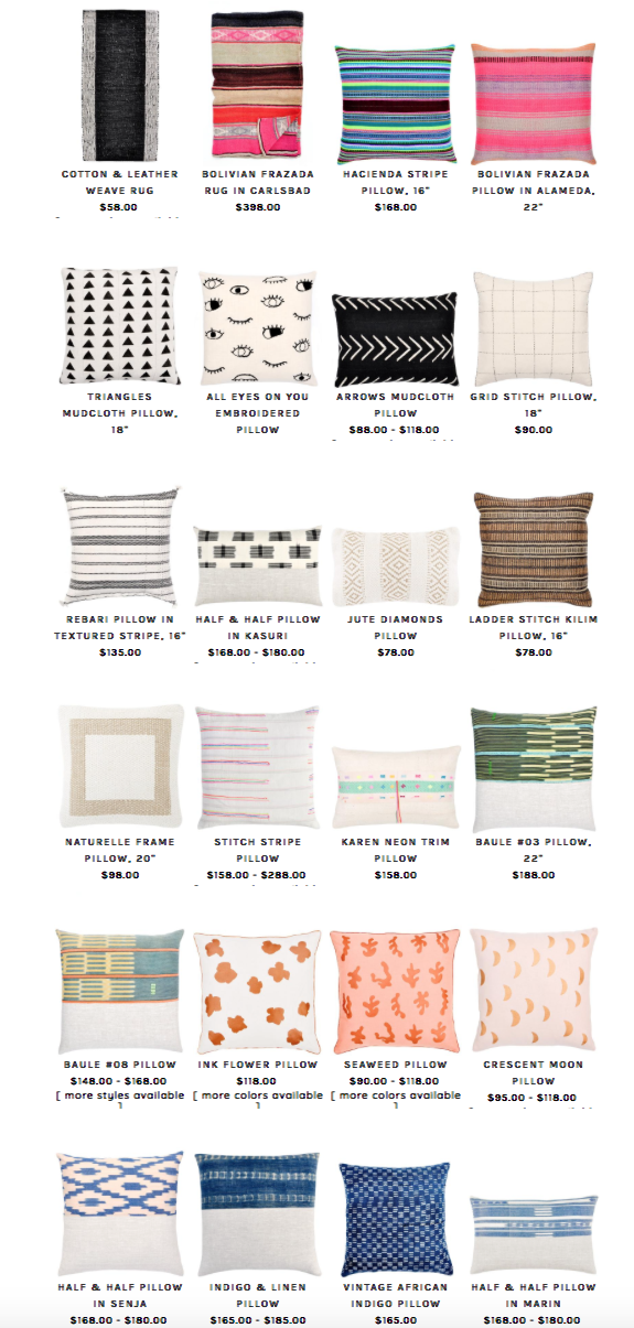 PILLOWS FROM LEIF -