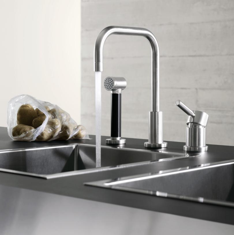 Dornbracht Meta Faucet with separate spray