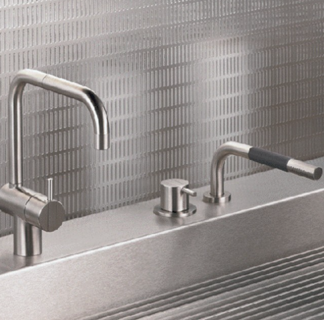 Vola Kitchen Faucet and Spray