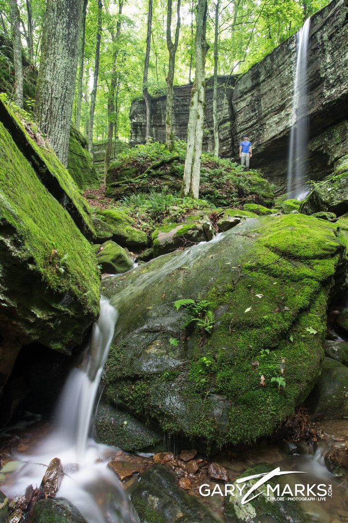 Saltpeter Cave Falls - Lusk Creek Wilderness
