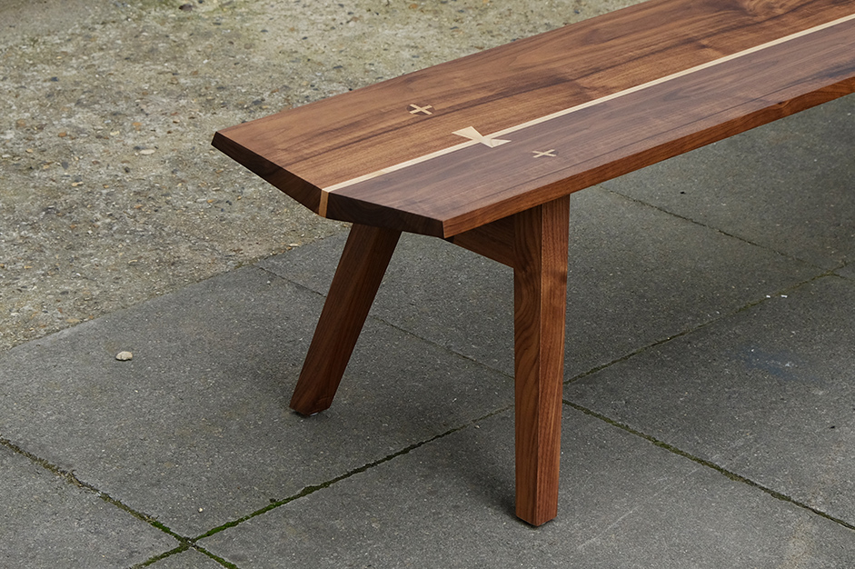 A bench with no screws, no bolts, no nails