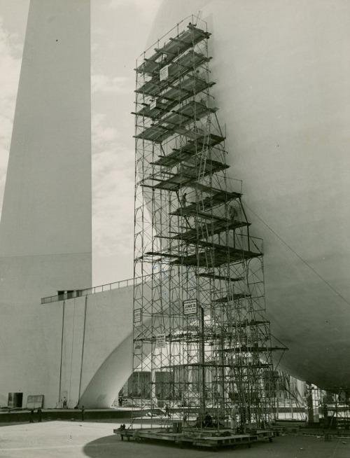 Trylon and Perisphere, 1939 New York World's Fair