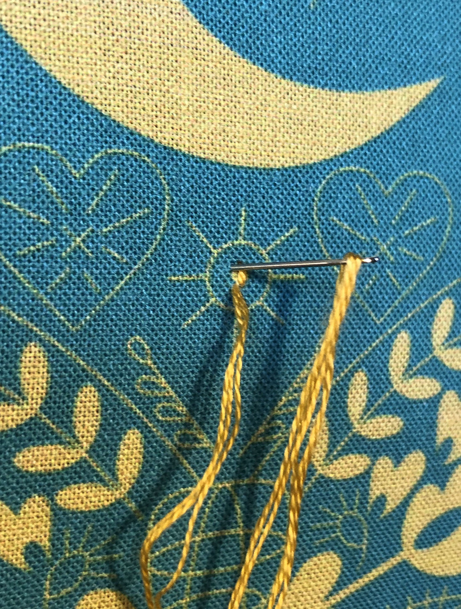 small Satin Stitch