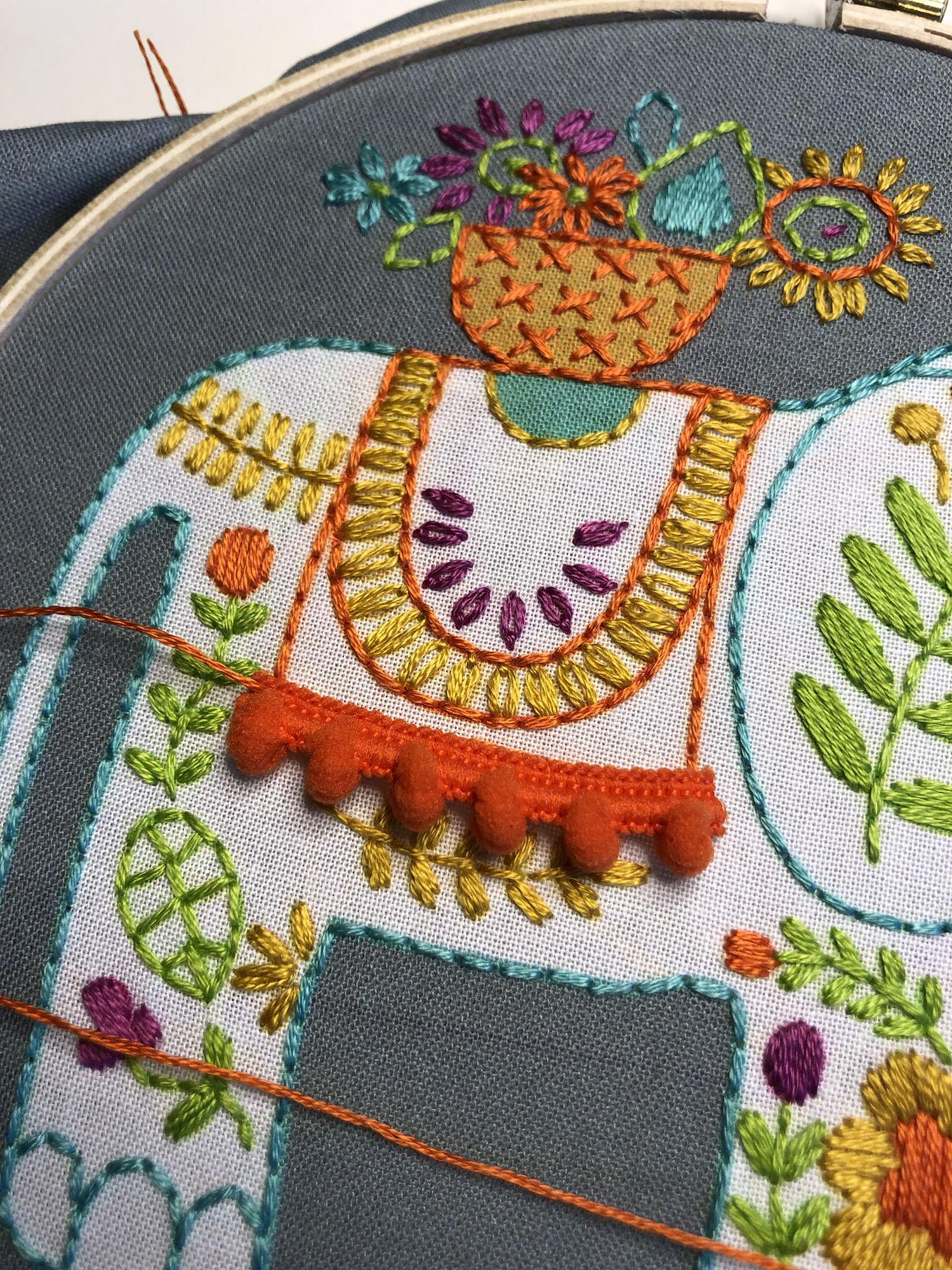 Easy Crochet Elephant Border | Stitch Tutorial! - YouTube | 1333x1000