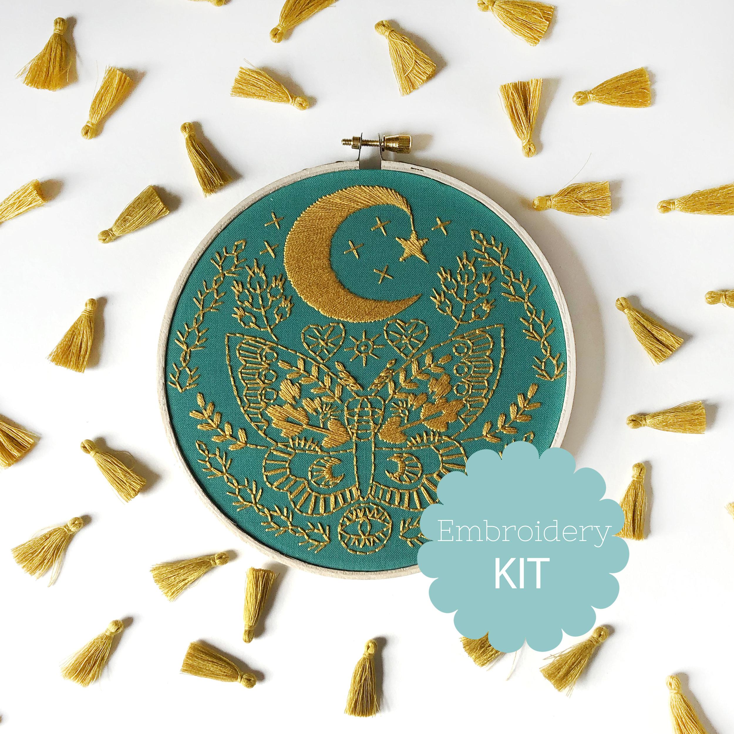Lunar Moth -