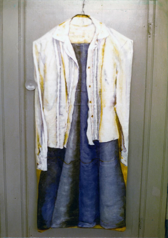 clothes #1 1978 oil 48x12